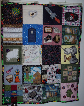 Image of the 2009 GaFilk quilt